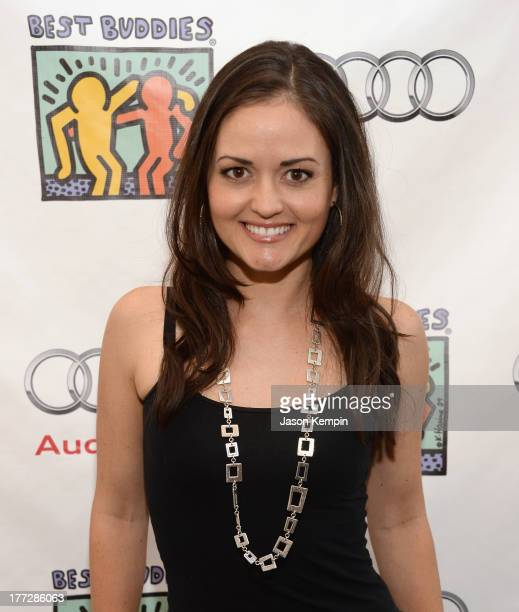 Danica McKellar attends the Best Buddies Poker Event at Audi Beverly Hills on August 22 2013 in Beverly Hills California