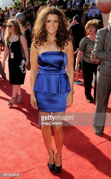 Danica Patrick arrives at the 2010 ESPY Awards at the Nokia Theatre LA Live on July 14 2010 in Los Angeles California