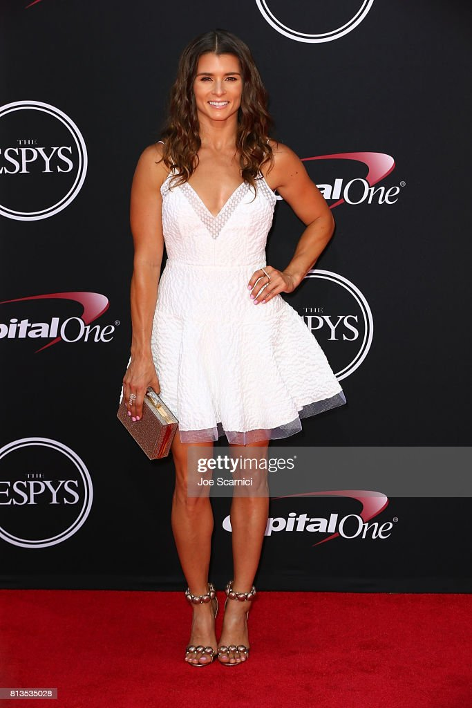 Danica Patrick arrives at the 2017 ESPYS at Microsoft Theater on July 12, 2017 in Los Angeles, California.