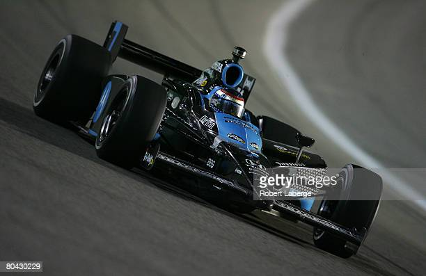 Danica Patrick driver of the Andretti Green Racing Dallara Honda during the IndyCar Series GAINSCO Auto Insurance Indy 300 on March 29 2008 at the...