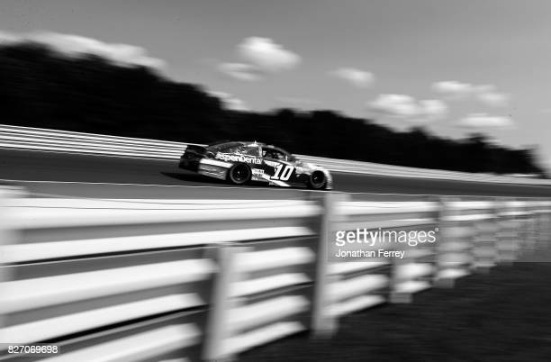 Danica Patrick driver of the Aspen Dental Ford drives during the Monster Energy NASCAR Cup Series I Love NY 355 at The Glen at Watkins Glen...