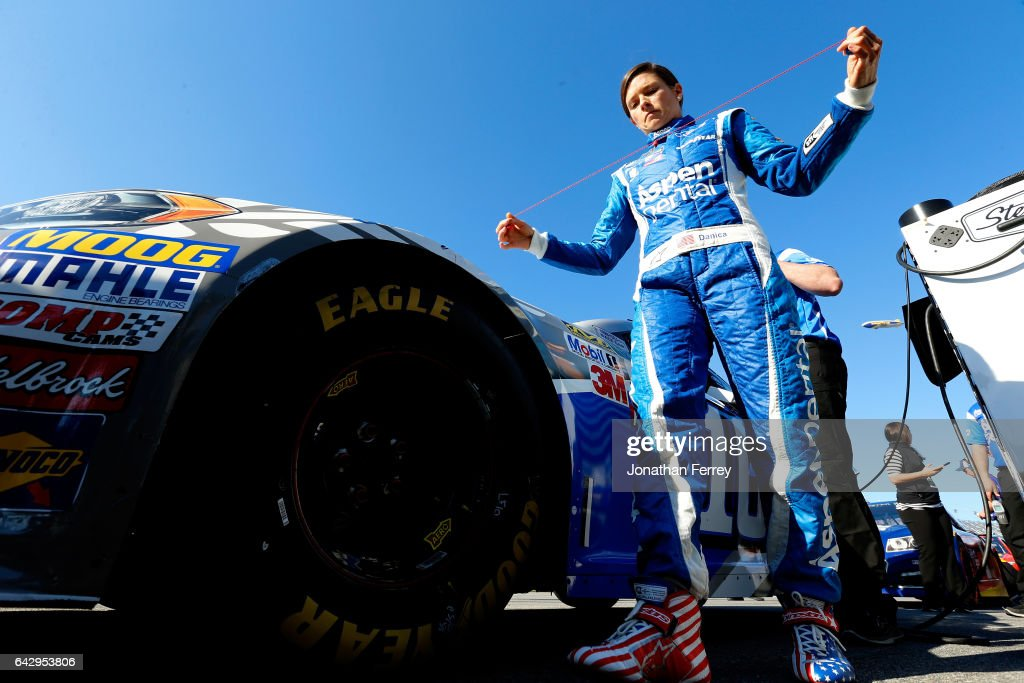 Practice and Qualifying for the 59th annual Daytona 500