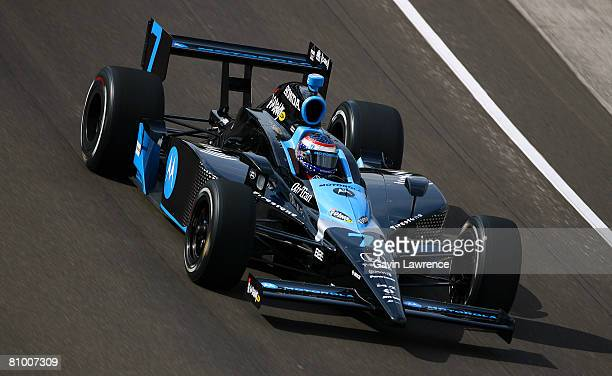 Danica Patrick driver of the Motorola Andretti Green Racing Dallara Honda practices for the IRL IndyCar Series 92nd running of the Indianapolis 500...