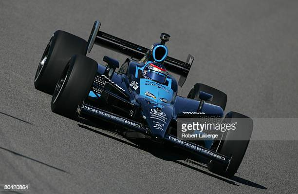 Danica Patrick drives the Andretti Green Racing Dallara Honda during practice for the IndyCar Series GAINSCO Auto Insurance Indy 300 on March 28 2008...