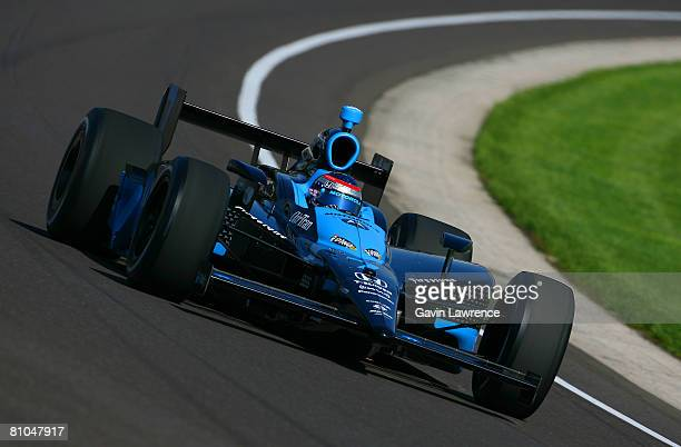Danica Patrick driving the Motorola Andretti Green Racing Dallara Honda during qualifying for the IRL IndyCar Series 92nd running of the Indianapolis...