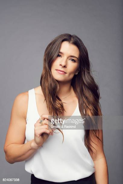 Danica Patrick of EPIX 'Danica' poses for a portrait during the 2017 Summer Television Critics Association Press Tour at The Beverly Hilton Hotel on...