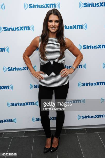 Danica Patrick visits at SiriusXM Studios on August 7 2014 in New York City