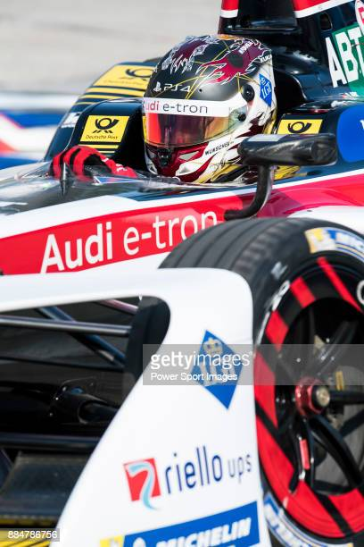 Daniel Abt of Germany from Audi Sport ABT Schaeffler competes during the FIA Formula E Hong Kong EPrix Round 2 at the Central Harbourfront Circuit on...