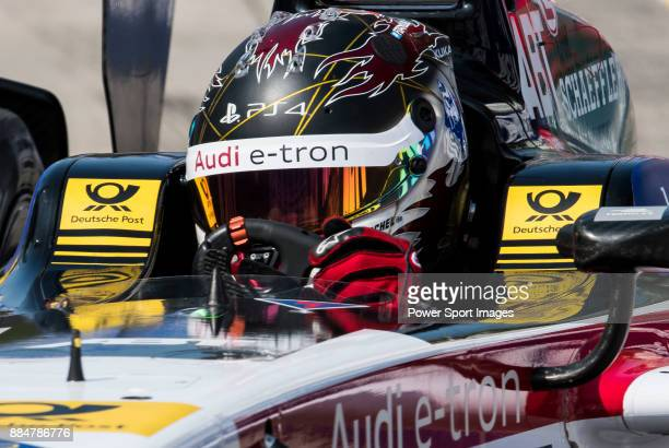 Daniel Abt of Germany from Audi Sport ABT Schaeffler competes in the Formula E Qualifying Session 2 during the FIA Formula E Hong Kong EPrix Round 2...
