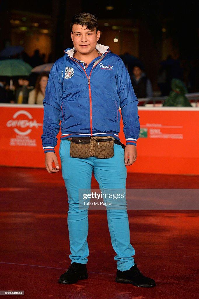 Daniel Acciobandinei attends the 'Fuoristrada' Premiere during The 8th Rome Film Festival at Auditorium Parco Della Musica on November 15, 2013 in Rome, Italy.