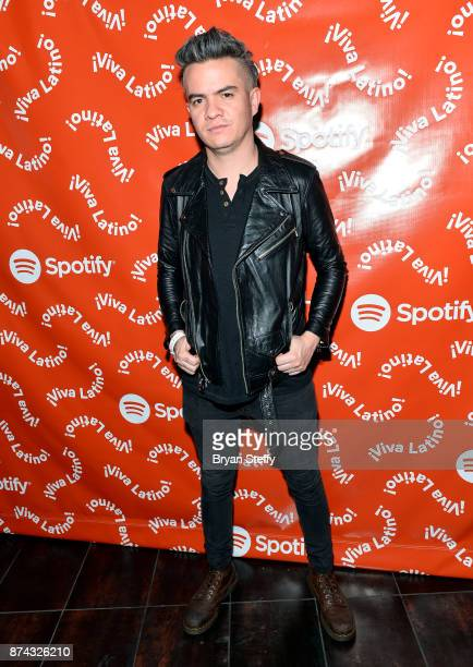 Daniel Alvarez of Diamante Electrico at Spotify Celebrates Latin Music and Their Viva Latino Playlist at Marquee Nightclub on November 14 2017 in Las...