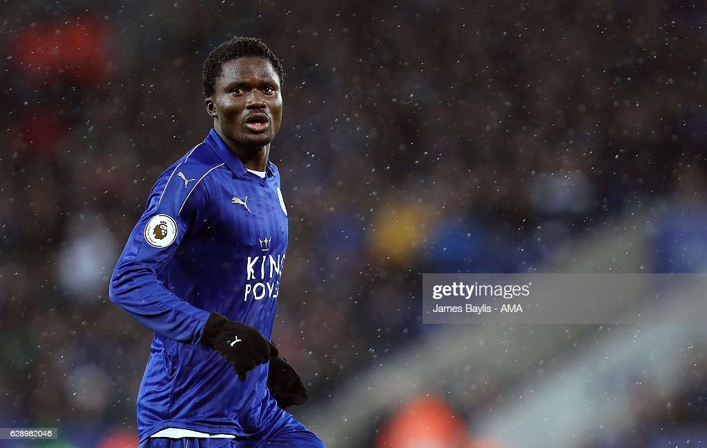 Daniel Amartey of Leicester City during the Premier League match between Leicester City and Manchester City at The King Power Stadium on December 10, 2016 in Leicester, England.
