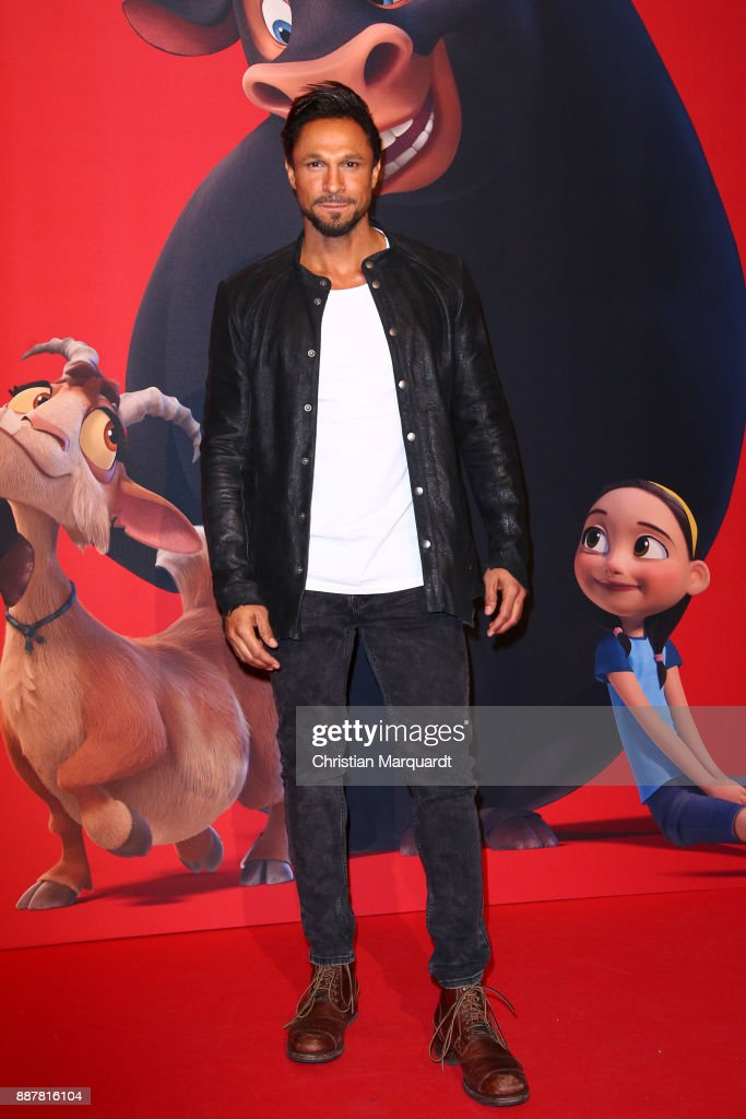 Daniel Aminati attends the premiere of 'Ferdinand - Geht STIERisch ab!' at Zoo Palast on December 7, 2017 in Berlin, Germany.