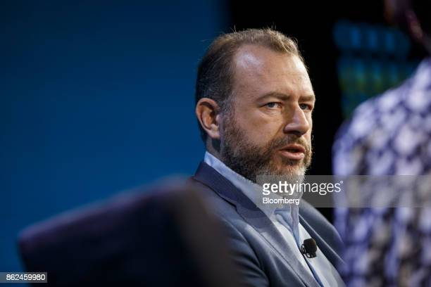 Daniel Ammann president of General Motors Co speaks during the Wall Street Journal DLive global technology conference in Laguna Beach California US...
