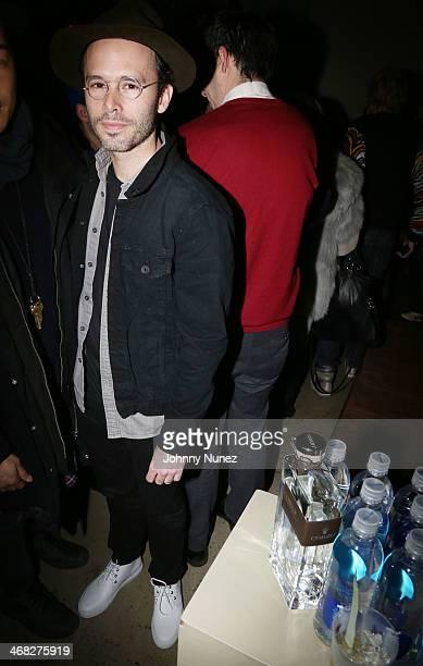 Daniel Arsham attends the Daniel Arsham x Chris Stamp Presentation during MADE Fashion Week Fall 2014 at Milk Studios on February 9 2014 in New York...