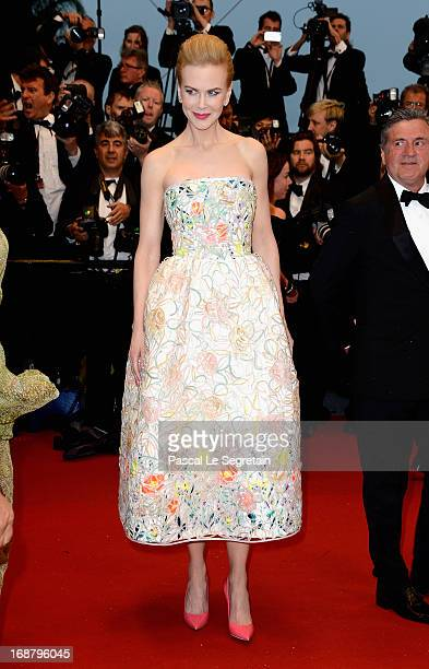 Daniel Auteuil and Nicole Kidman attends the Opening Ceremony and 'The Great Gatsby' Premiere during the 66th Annual Cannes Film Festival at the...