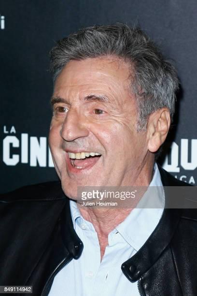 Daniel Auteuil attends 'Happy End' Paris Premiere at la cinematheque on September 18 2017 in Paris France