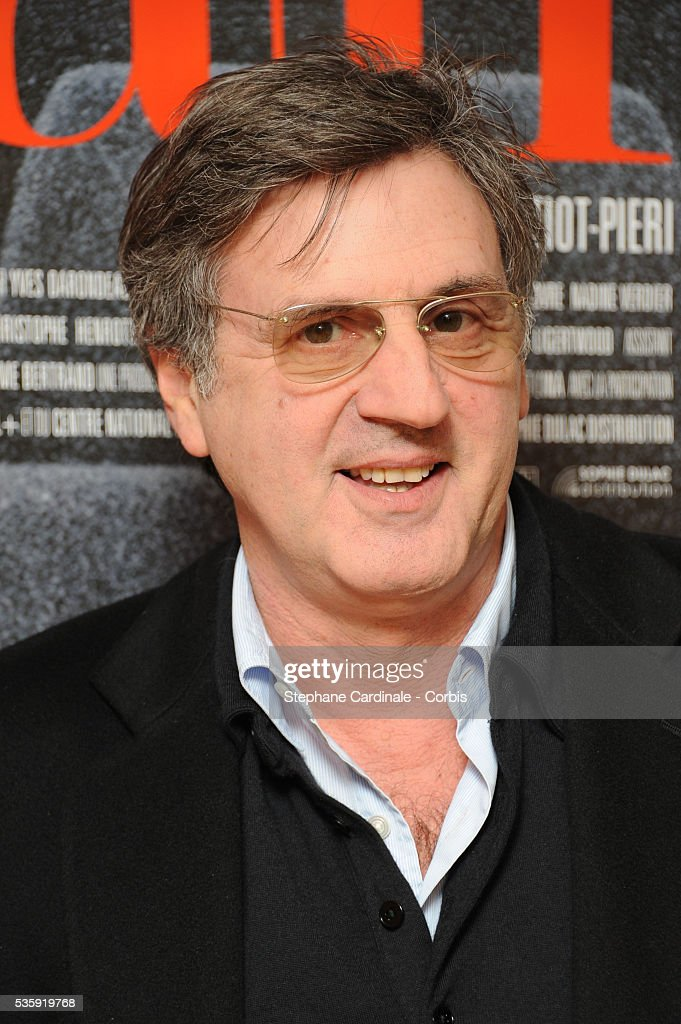 Daniel Auteuil attends the 'Toscan' documentary premiere at Cinema l'Arlequin in Paris.