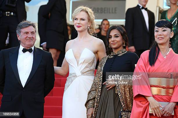 Daniel Auteuil Nicole Kidman Vidya Balan and Naomie Kawase attend the 'Zulu' Premiere and Closing Ceremony during the 66th Annual Cannes Film...