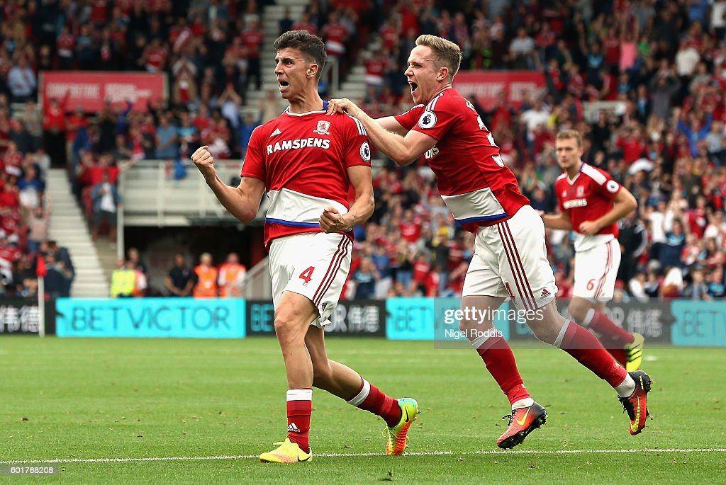 Middlesbrough v Crystal Palace - Premier League : News Photo