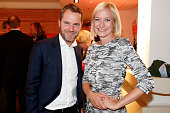 Daniel Bahr and guest attend the STERN And CAPITAL Summer Party on June 16 2015 in Berlin Germany
