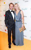 Daniel Bahr and Judy Witten attend the Dreamball 2014 at the Ritz Carlton on September 11 2014 in Berlin Germany
