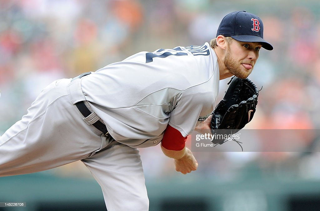 <a gi-track='captionPersonalityLinkClicked' href=/galleries/search?phrase=Daniel+Bard&family=editorial&specificpeople=550283 ng-click='$event.stopPropagation()'>Daniel Bard</a> #51 of the Boston Red Sox pitches against the Baltimore Orioles at Oriole Park at Camden Yards on May 23, 2012 in Baltimore, Maryland.