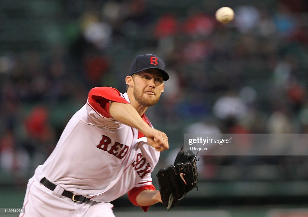 <a gi-track='captionPersonalityLinkClicked' href=/galleries/search?phrase=Daniel+Bard&family=editorial&specificpeople=550283 ng-click='$event.stopPropagation()'>Daniel Bard</a> #51 of the Boston Red Sox pitches against the Oakland Athletics at Fenway Park May 2, 2012 in Boston, Massachusetts.