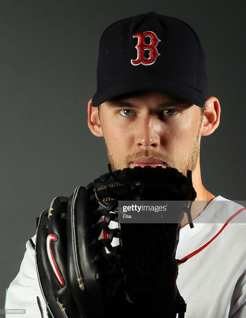 <a gi-track='captionPersonalityLinkClicked' href=/galleries/search?phrase=Daniel+Bard&family=editorial&specificpeople=550283 ng-click='$event.stopPropagation()'>Daniel Bard</a> #51 of the Boston Red Sox poses for a portrait on February 26, 2012 at jetBlue Park in Fort Myers, Florida.