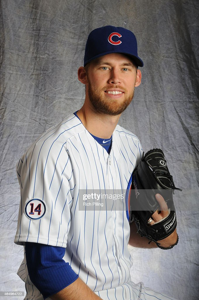 <a gi-track='captionPersonalityLinkClicked' href=/galleries/search?phrase=Daniel+Bard&family=editorial&specificpeople=550283 ng-click='$event.stopPropagation()'>Daniel Bard</a> #55 of the Chicago Cubs poses for a portrait during Photo Day on March 2, 2015 at Sloan Park in Mesa, Arizona.