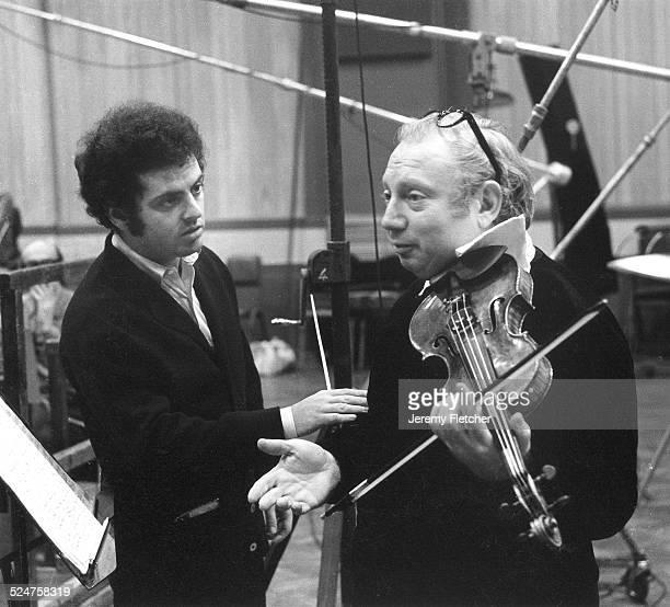 Daniel Barenboim and Isaac Stern London United Kingdom 1975