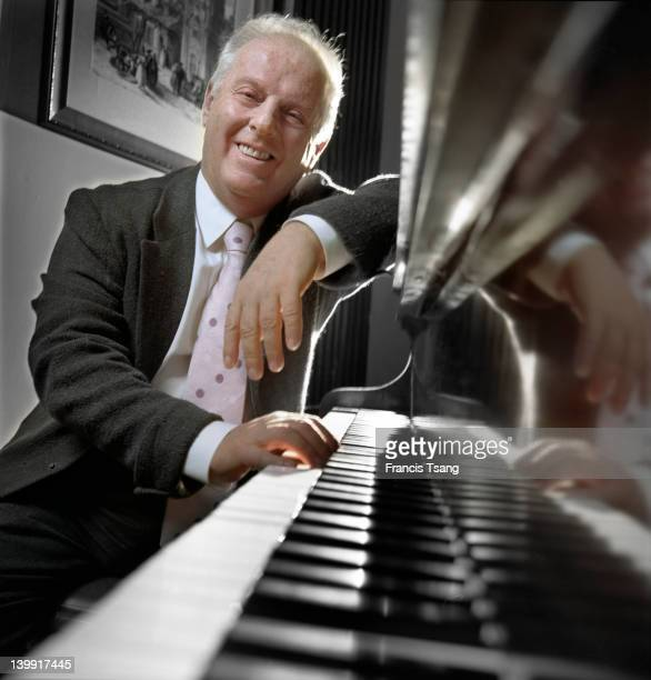 Daniel Barenboim Argentinian pianist and conductor Madrid 23 October 2006