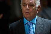 Daniel Barenboim musical director of the Berlin State Opera and cofounder of the WestEastern Divan Orchestra attends a press conference in the...