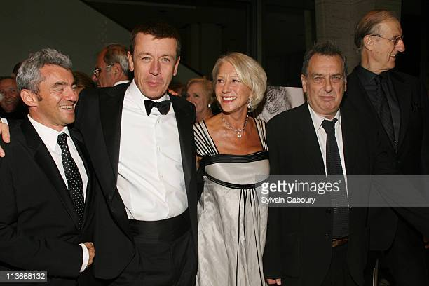 Daniel Battsek Peter Morgan Helen Mirren Stephen Frears and James Cromwell