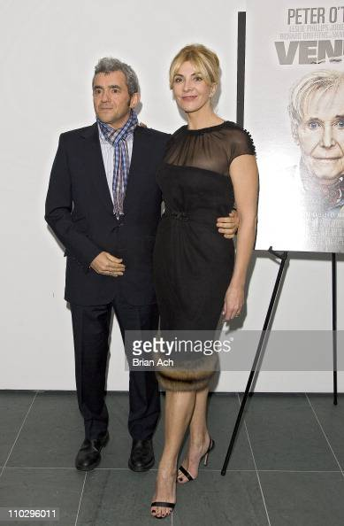 Daniel Battsek President of Miramax Films and Natasha Richardson