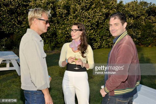 Daniel Benedict Ashley Anderson and Zach Galligan attend THE CINEMA SOCIETY DIOR BEAUTY host a screening of 'GREASE SingALong' at Katie Lee's Beach...