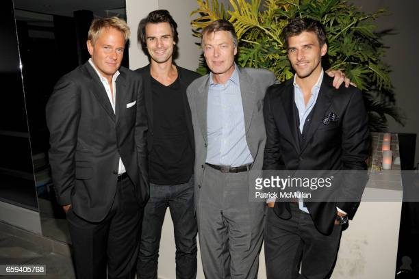 Daniel Benedict Kane Manera Richard Johnson and Johannes Huebl attend THE CINEMA SOCIETY THE NEW YORKER host the after party for 'BEYOND A REASONABLE...