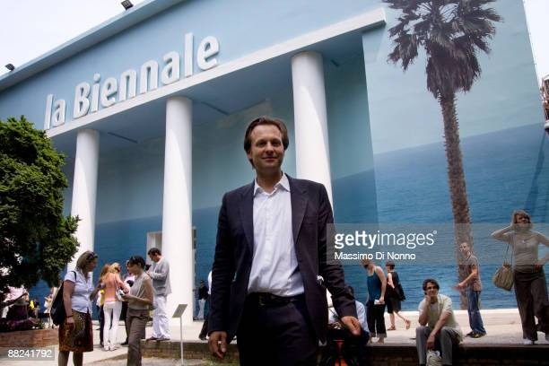 Daniel Birnbaum director of the Venice Biennale during the 53rd International Art Exhibition on June 5 2009 in Venice Italy