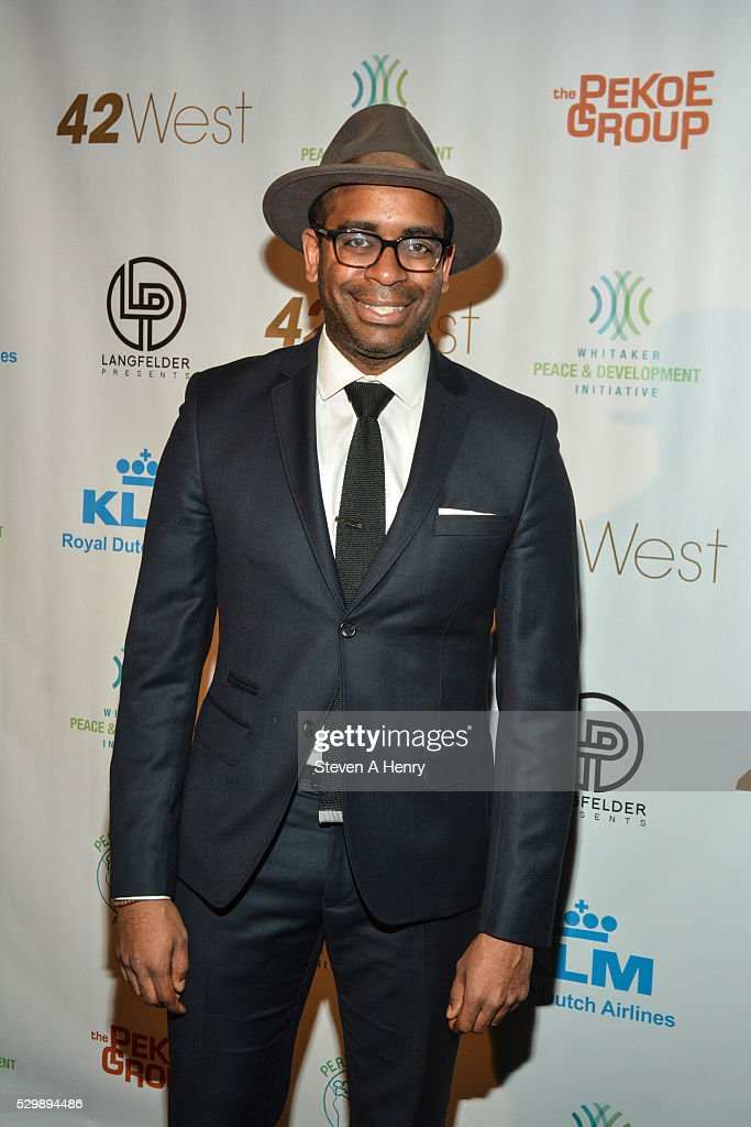Daniel Breaker attends the 2016 Performers4Peace Benefit Concert at 42West on May 9 2016 in New York City