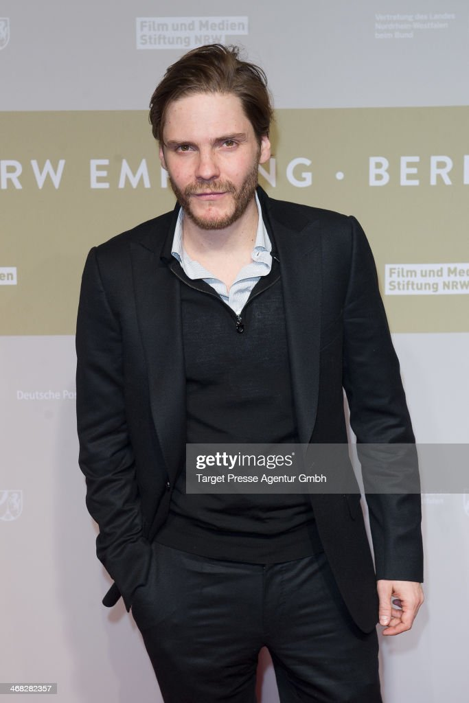 Daniel Bruehl attends the NRW Reception at the Landesvertretung on February 9, 2014 in Berlin, Germany.