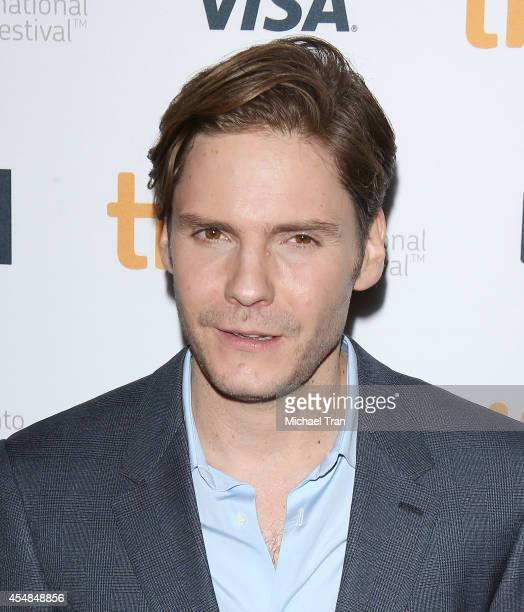 Daniel Bruhl arrives at the premiere of The Face of an Angel held during the 2014 Toronto International Film Festival Day 3 on September 6 2014 in...