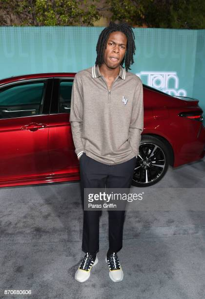 Daniel Caesar attends the 2017 Soul Train Awards presented by BET at the Orleans Arena on November 5 2017 in Las Vegas Nevada