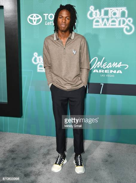 Daniel Caesar attends the 2017 Soul Train Music Awards at the Orleans Arena on November 5 2017 in Las Vegas Nevada