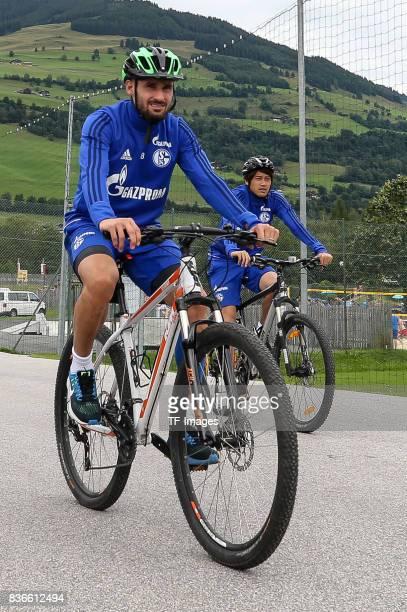 Daniel Caligiuri of Schalke controls the ball during the Training Camp of FC Schalke 04 on July 29 2017 in Mittersill Austria