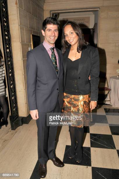 Daniel Cappello and Asha Talwar attend AMERICAN BALLET THEATRE's JUNIOR COUNCIL Host an Evening at THE FORBES GALLERIES at Forbes Building on October...