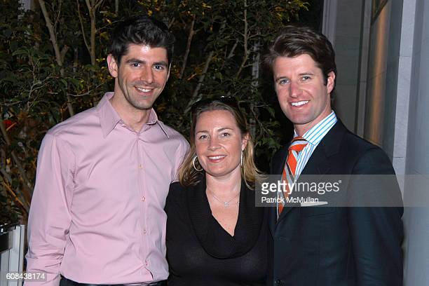 Daniel Cappello Fernanda Gilligan and Jeff Caldwell attend BOMB MAGAZINE Michele Gerber Klein Hosts a Cocktail Reception to Celebrate The Spring...