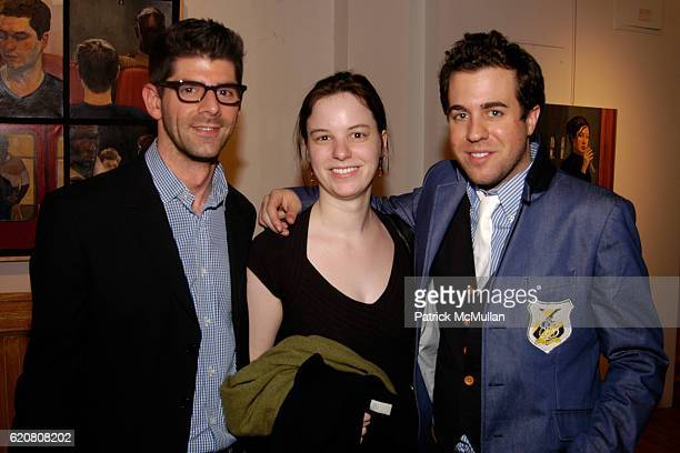 Daniel Cappello Katherine Stirling and Kristian Laliberte attend KiptonART and Culture Travel Magazine present SERGE STROSBERG Paris to New York at...