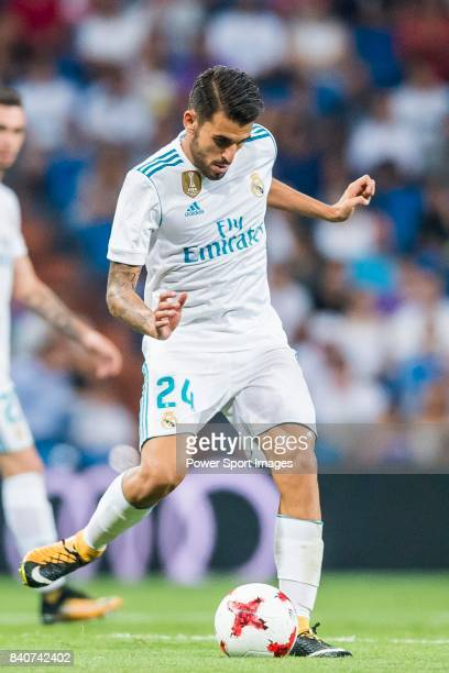 Daniel Ceballos Fernandez Dani Ceballos of Real Madrid in action during the Santiago Bernabeu Trophy 2017 match between Real Madrid and ACF...