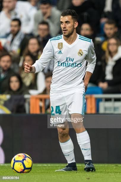 Daniel Ceballos Fernandez of Real Madrid during the La Liga Santander match between Real Madrid CF and Sevilla FC on December 09 2017 at the Santiago...