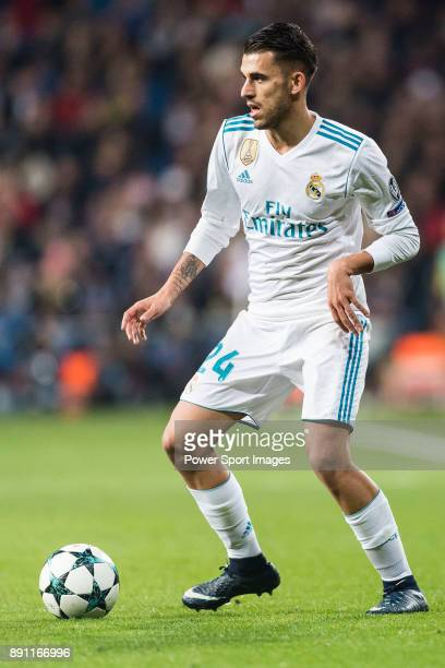 Daniel Ceballos of Real Madrid in action during the Europe Champions League 201718 match between Real Madrid and Borussia Dortmund at Santiago...